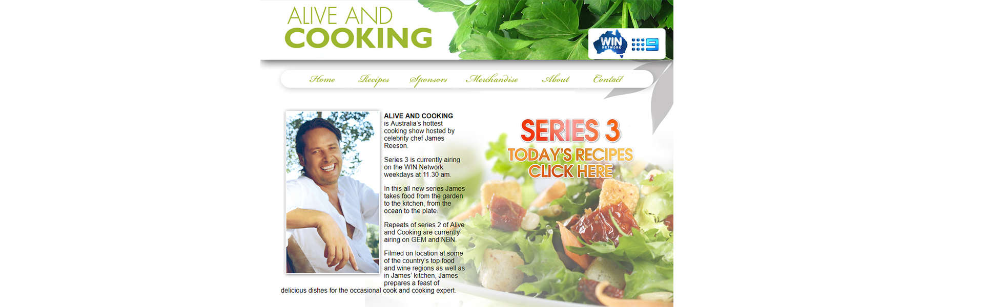 Web Design Alive and Cooking
